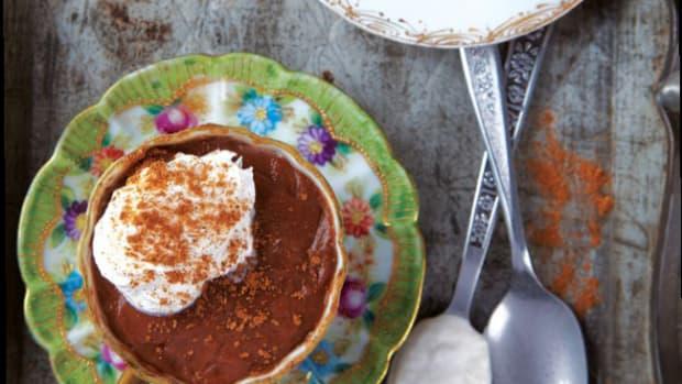 Hawaij Spiced Pots de Crème
