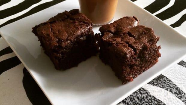 Fudgy Candy Bar Brownie