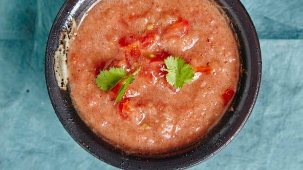 Tomato-Pomegranate Dip