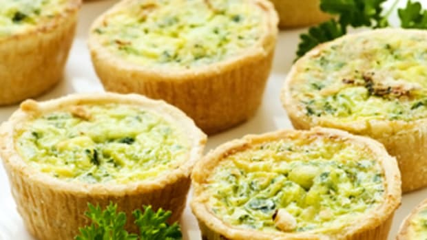 Gluten Free Mini Vegetarian Quiche