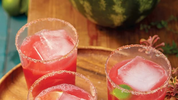 Watermelon-Tequila Punch