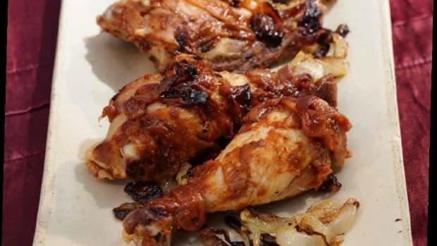 pomegranate molasses chicken