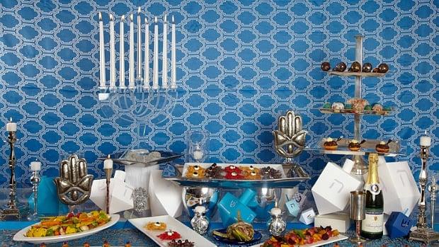 Hanukkah Table and Recipes