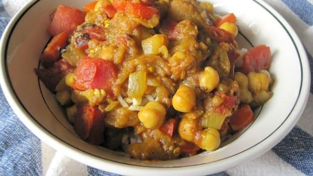 gluten free baigan bharta