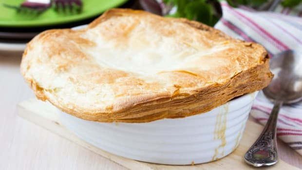 chicken and mushroom pot pie