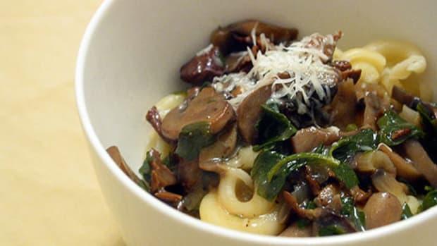 Pasta with Wild Mushrooms