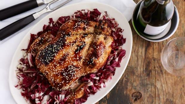 Honey-Sesame Glazed Chicken