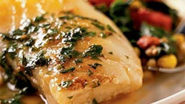 Herbed Sea Bass