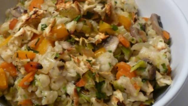 herb veggie farfel