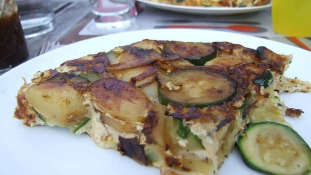 Zucchini and Potato Tortilla85