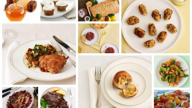 honey recipes collage