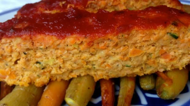 salmon vegetable loaf