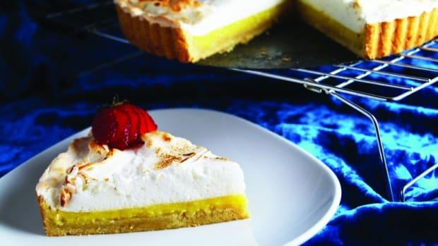 lemon meringue tart gluten free
