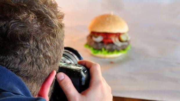 food photo shoot