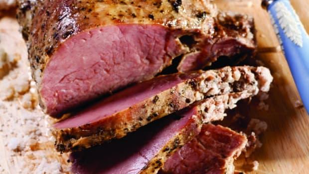Herb-Roasted Beef in a Salt Crust