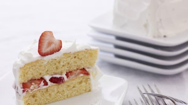 non dairy strawberry shortcake
