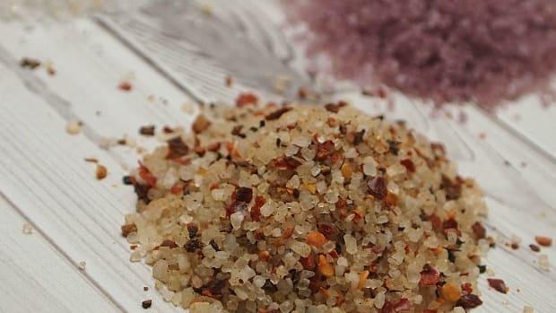 flavored naked sea salt