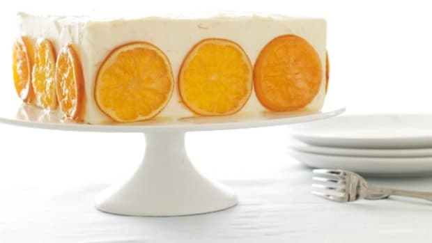 orange honey cake