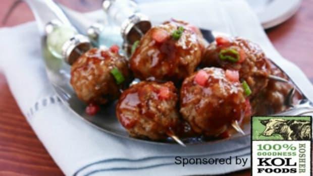 Watermelon-Glazed-Mini-Barbequed-Meatballs k
