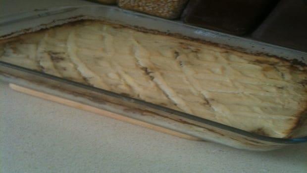 creamy healthy shepards pie