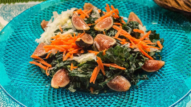 kale and fig salad 1