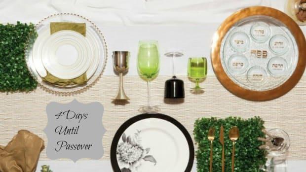 4 days to passover