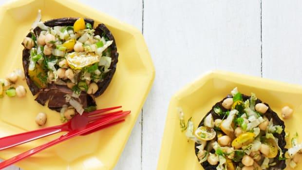 Salad Stuff Portobellos