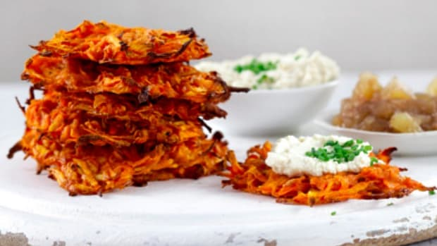 mini latkes