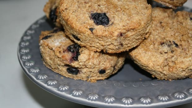blueberry scones whole wheat