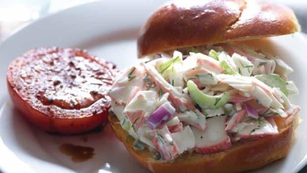 Creamy Mock Crab Salad