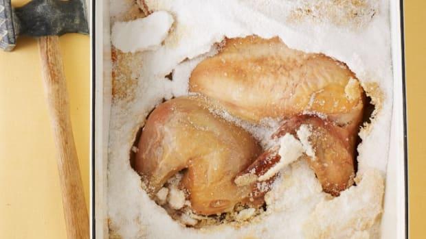 Chicken in a Salt Crust