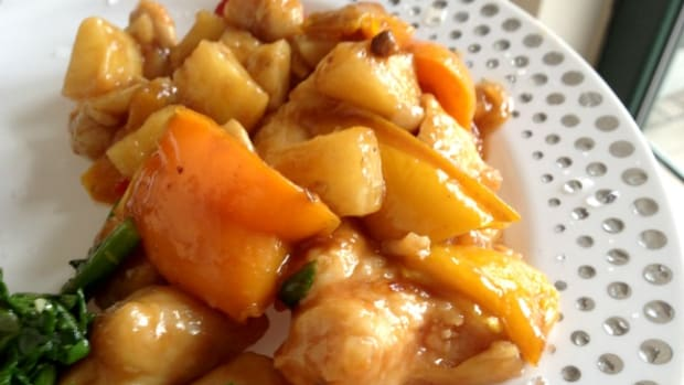 sweet and sour chicken for Passover