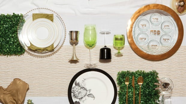 Passover Tablescape