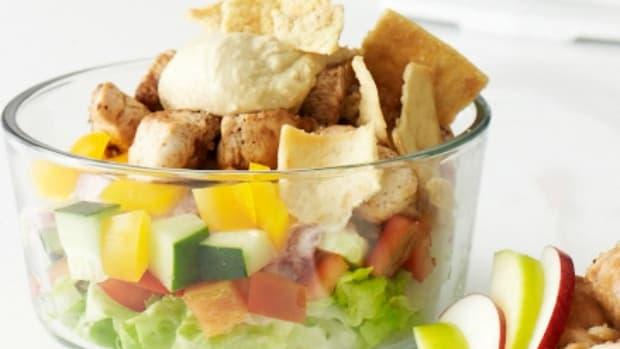 trifle shwarma salad