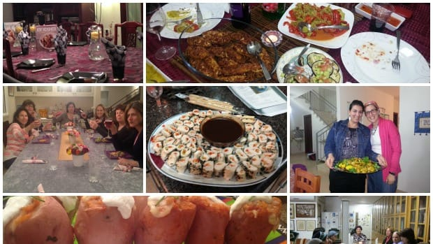 israel cookbook parties
