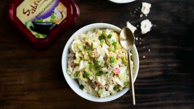 Babagnoush Egg Salad85