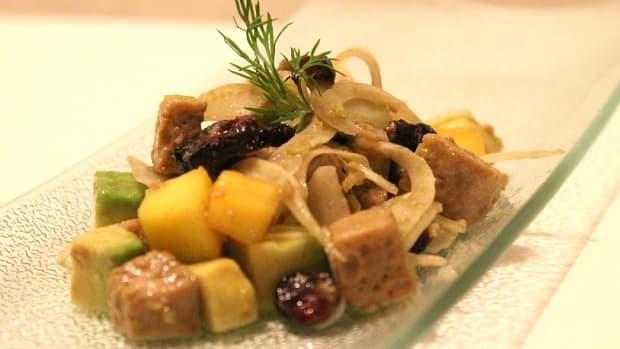Leftover Gefilte fish Salad