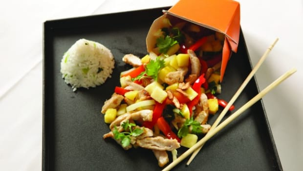 Jeff Nathan's Asian Chicken Stir Fry
