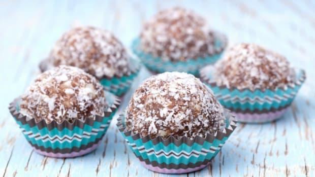 Almond-Walnut Truffles
