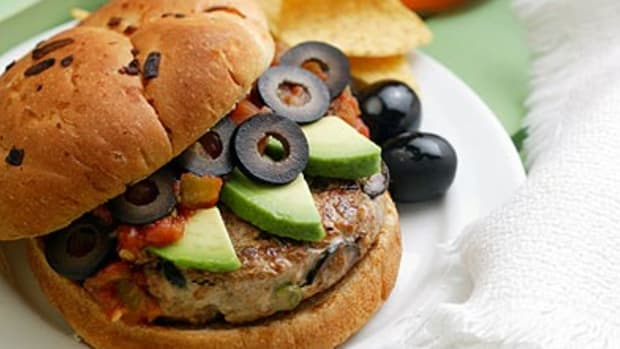 Mexican Turkey Burgers