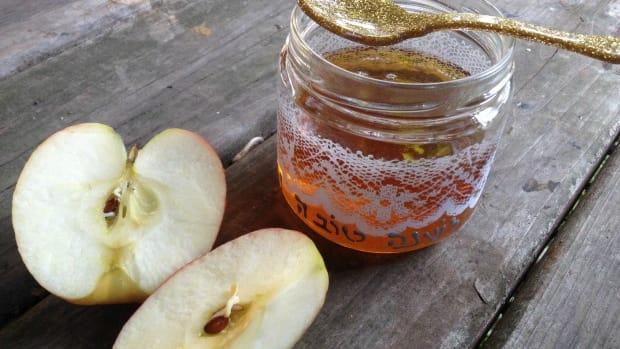 rosh hashanah diy honey jar