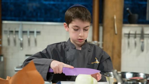 chef eitan on chopped (from Food Network)