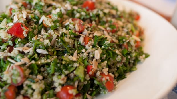 Protein Packed Salad - Quinoa Tabbouleh