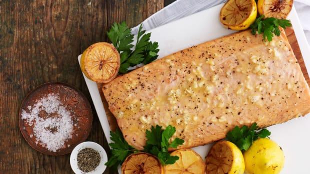 Honey Baked Salmon Large