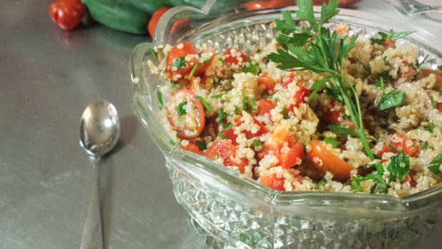 J.O.K Taster's take on Quiona Tabbouleh