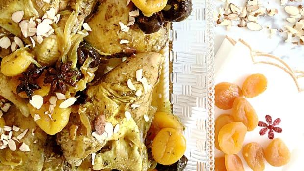 Moroccan Spiced Chicken Dinner