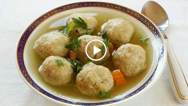 Light and Fluffy Matzo Ball Video