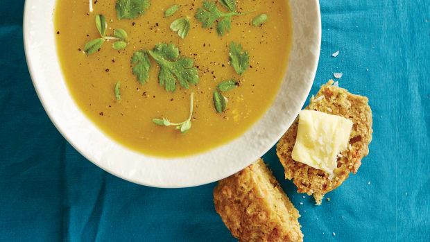 Moroccan Pea Soup 74