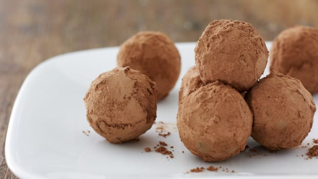 Homemade Chocolate Mango Truffles