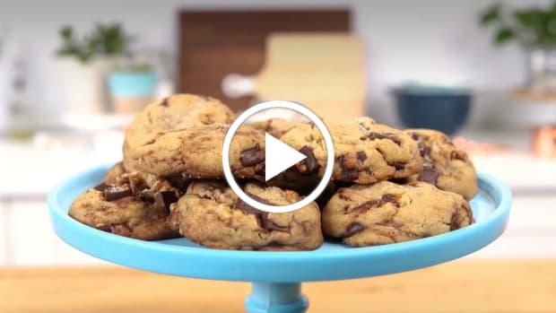 brown butter cookies video